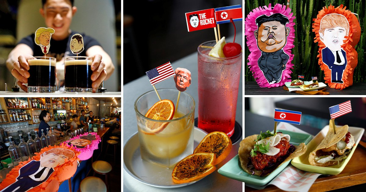 Donald Trump and Kim Jong Un summit inspires new dishes in Singapore