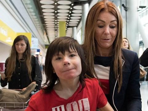 Boy's 'life-saving' cannabis oil is confiscated at Heathrow