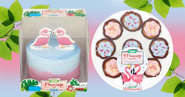 Asda Has Released A Flamingo Cake Range And It's Cheap As Chips