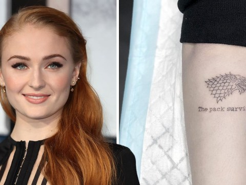Sophie Turner's new tattoo is not a Game Of Thrones spoiler: 'It's just a quote from last season'