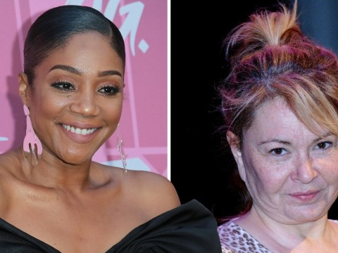 Tiffany Haddish questions why Roseanne Barr was ever given a TV show: 'She been racist'