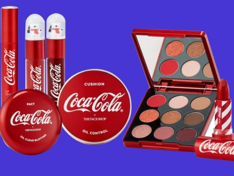 Coca Cola launches limited edition makeup line in South Korea