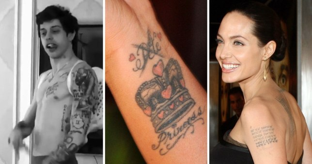 16 stars who regret getting their lover tattooed on them