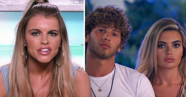 Caption: LI Exit Interviews: Hayley agrees Eyal is a bit 'full on' with Megan