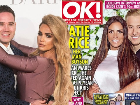 Katie Price reveals soon-to-be ex Kieran Hayler makes her 'sick' after cheating on her again