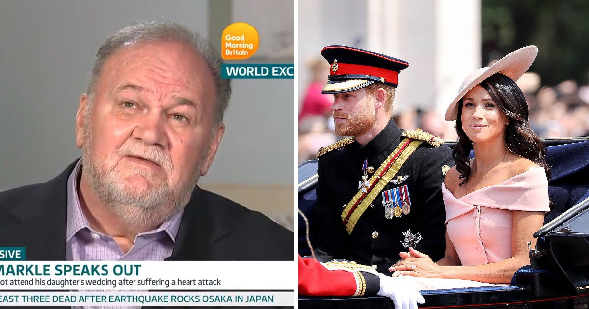 Meghan's dad Thomas Markle talks about moment she said she found love with Prince Harry