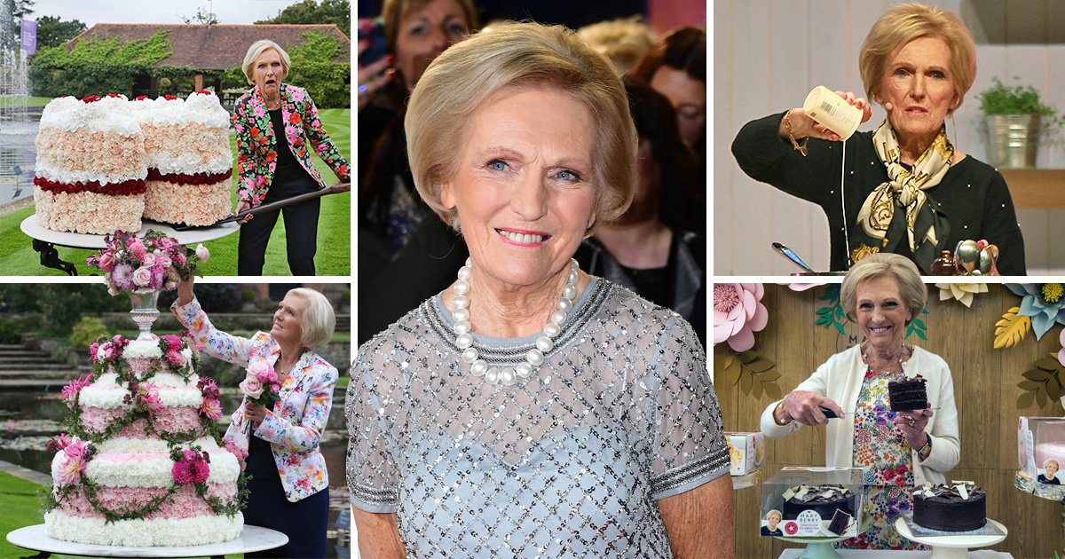 Forget soggy bottoms Mary Berry gives up sweet treats as she's afraid her bum will get fat