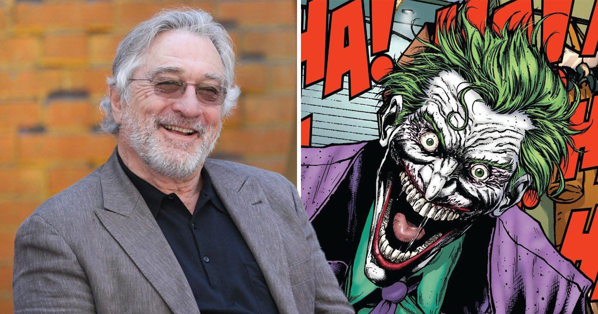 Robert De Niro is 'being lined-up' for a role in The Joker origin movie – could he play a Roman Falcone figure outside the DCEU?