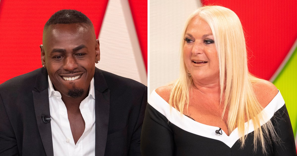 Vanessa Feltz claims her husband of 12 years has never seen her without makeup
