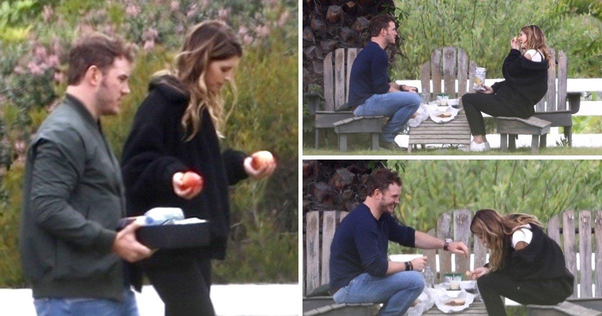 Chris Pratt takes Arnold Schwarzenegger's daughter on cute picnic date