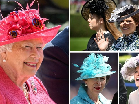 The Queen is a vision in pink as she enjoys Royal Ascot Ladies' day