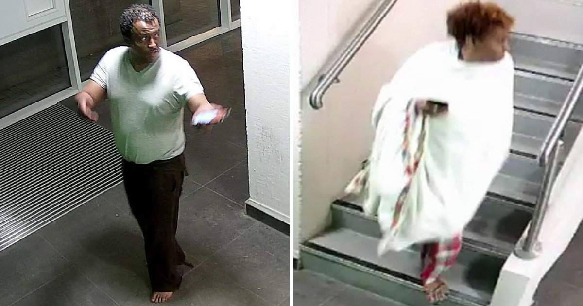 CCTV shows Grenfell tenant fleeing flat where fire started after calling 999