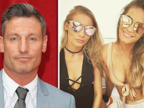 Dean Gaffney refuses to allow twin daughters, 21, to go on Love Island