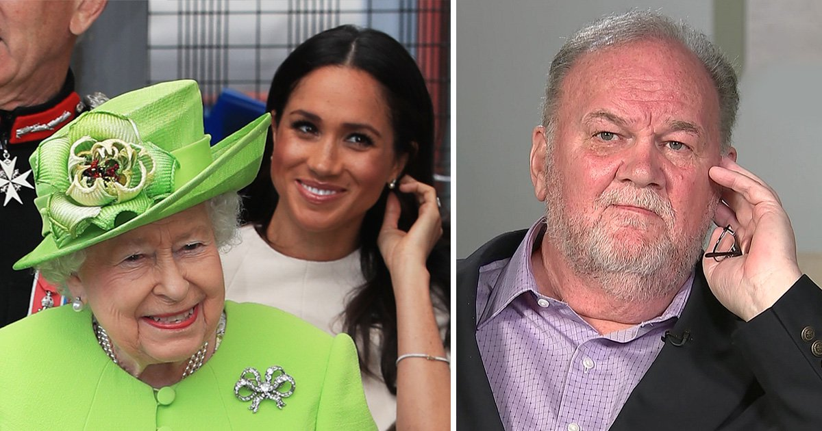 Meghan Markle's dad says he's been 'frozen out' by the Royal Family