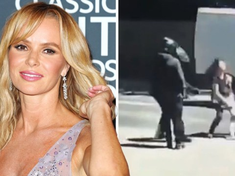 Amanda Holden appeals for information on 'scumbags' in attempted robbery on mother and child