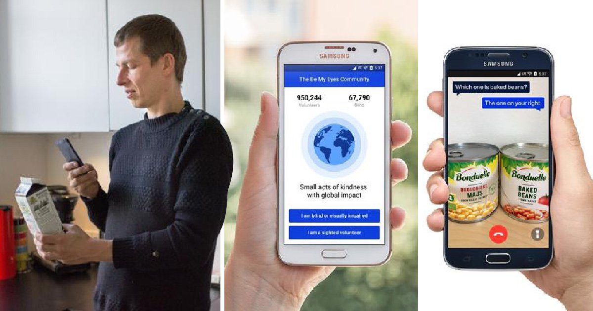 This app lets you be a blind person's eyes from anywhere in the world