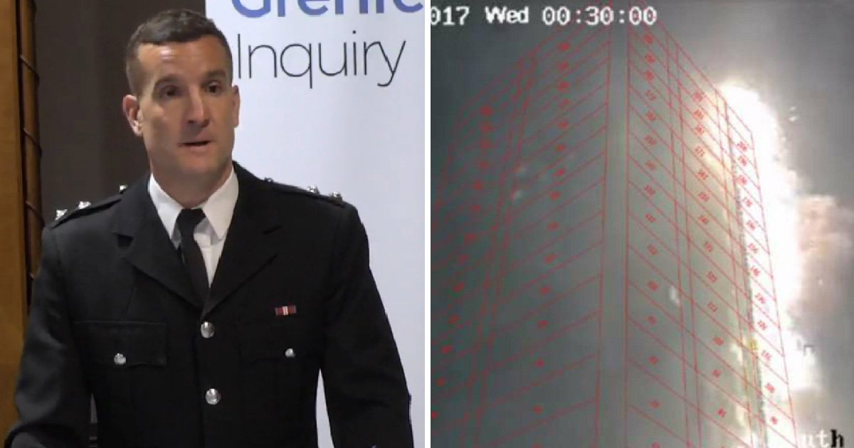 Grenfell inquiry halted after firefighter breaks down watching videos of blaze