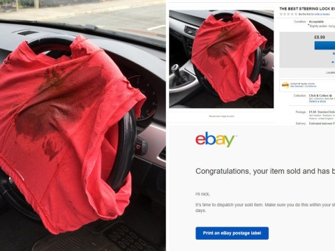 Prankster shocked as someone buys his dirty underwear off eBay