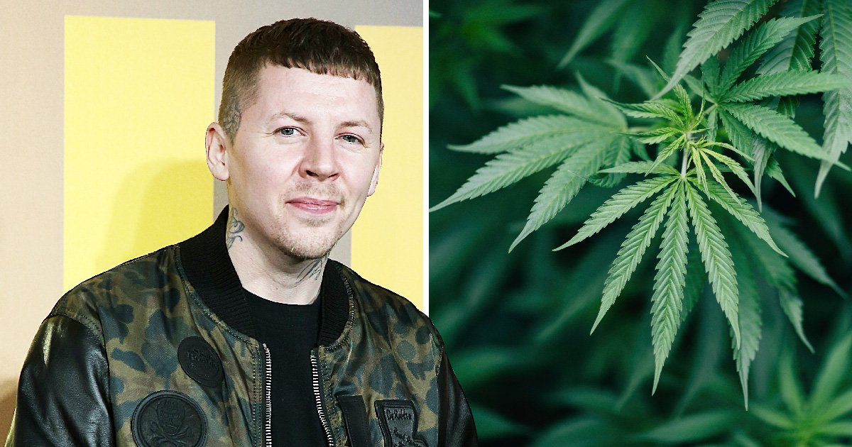 Professor Green calls for legalising weed as he blasts UK for 'not having liberal attitude'