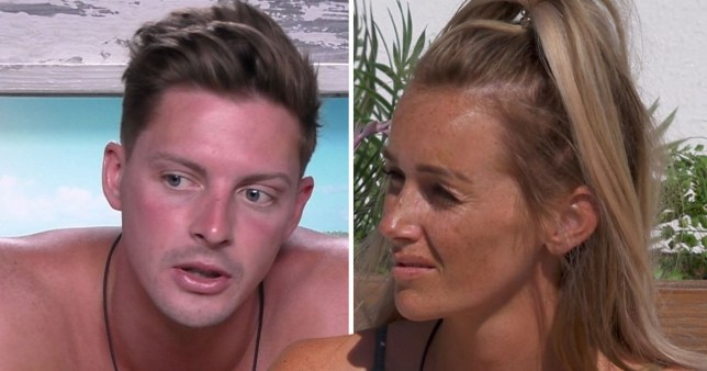 Laura and Alex had an unseen kiss on Love Island