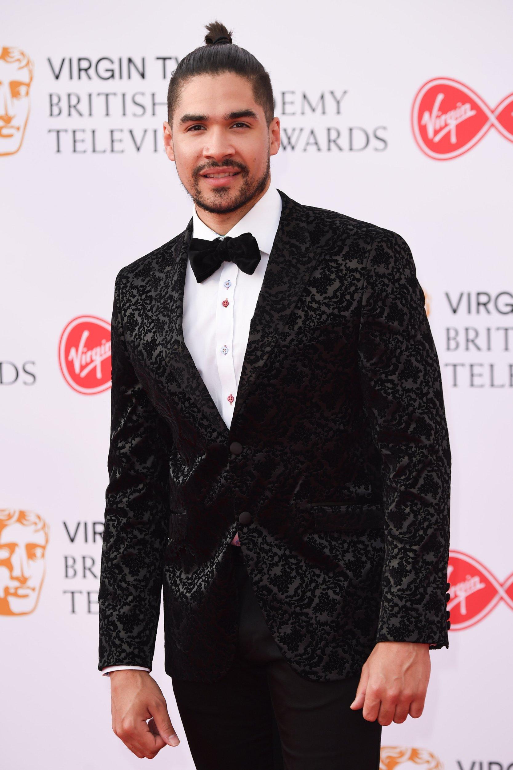 Mandatory Credit: Photo by FeatureflashSHM/REX/Shutterstock (9670754io) Louis Smith British Academy Television Awards, Arrivals, Royal Festival Hall, London, UK - 13 May 2018