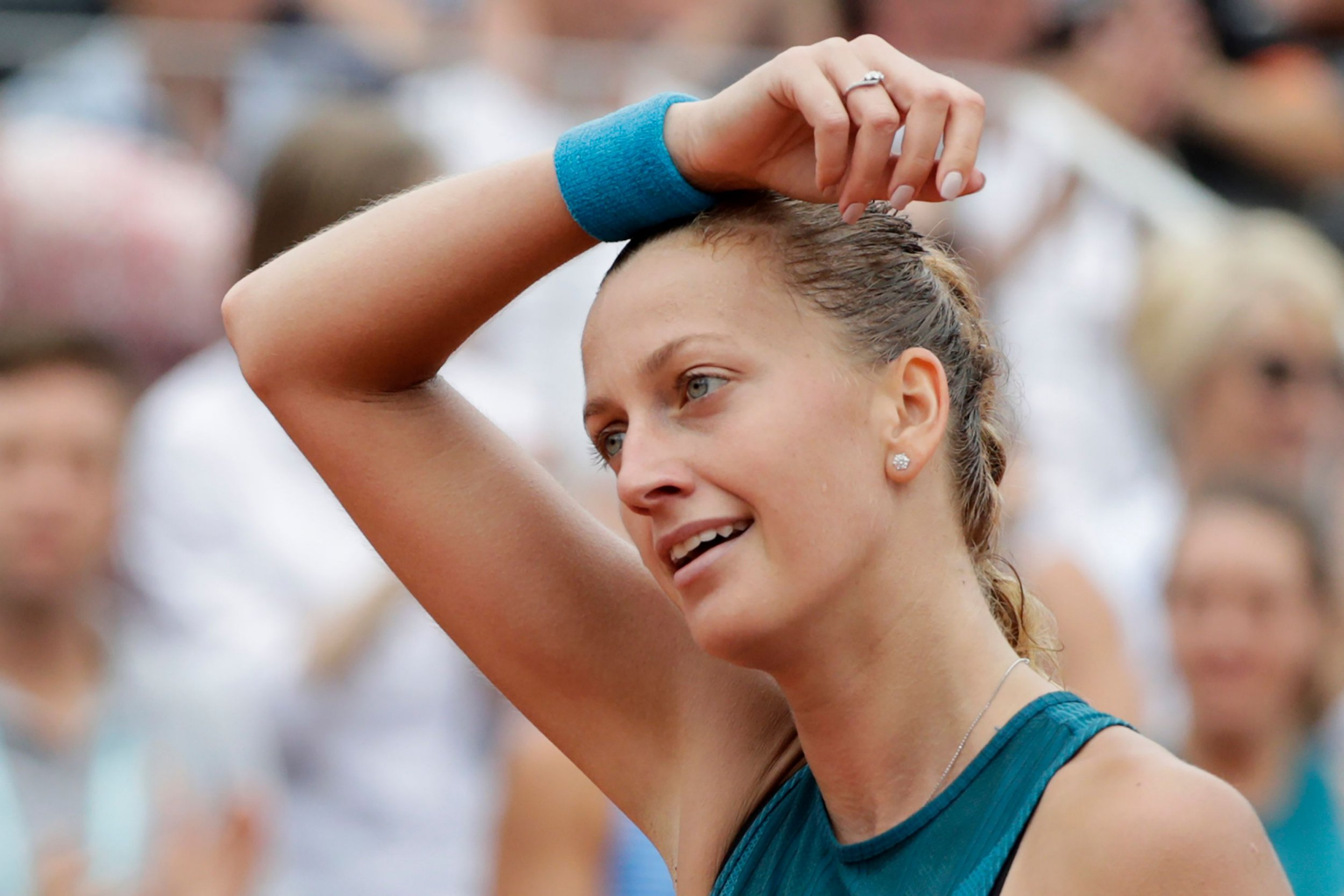 Petra Kvitova speaks out after French Open exit to Anett Kontaveit