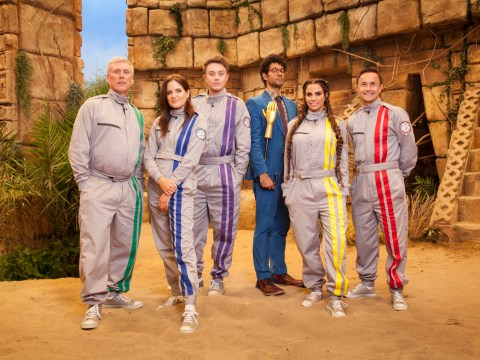 Who is on The Crystal Maze's second celeb special?