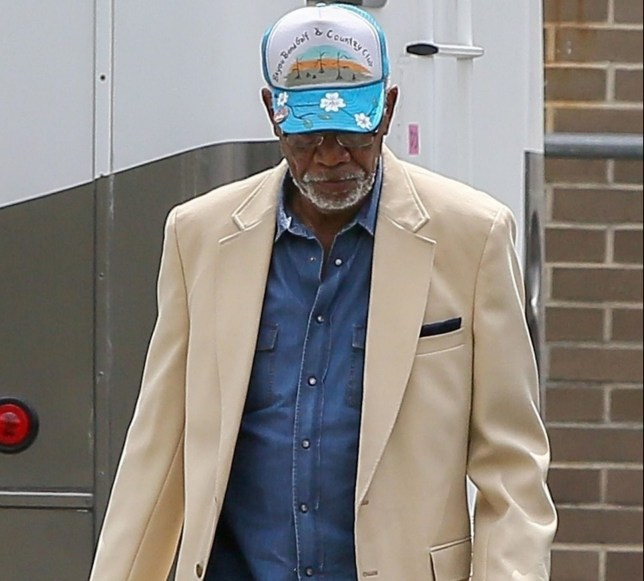 Savannah, GA - *EXCLUSIVE* **WEB MUST CALL FOR PRICING** - Actor Morgan Freeman was spotted on the set of 'Poison Rose' following the recent sexual harassment allegations against him. Freeman's co-stars John Travolta, Peter Stormare and Kat Graham soldiered on with the project in spite of the recent news, seeming to have a good time while on location in Savannah, Georgia. Pictured: Morgan Freeman BACKGRID USA 31 MAY 2018 USA: +1 310 798 9111 / usasales@backgrid.com UK: +44 208 344 2007 / uksales@backgrid.com *UK Clients - Pictures Containing Children Please Pixelate Face Prior To Publication*
