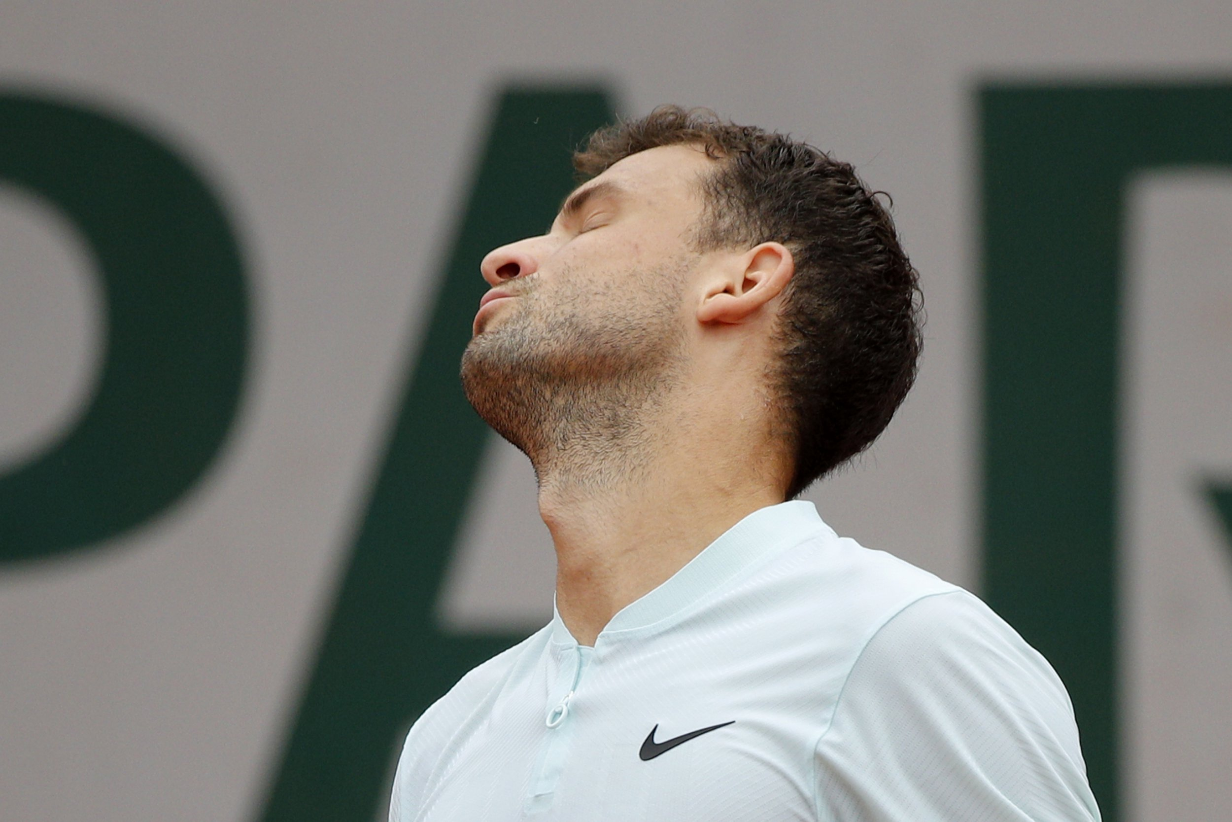 Fourth seed Grigor Dimitrov speaks out on latest early French Open exit
