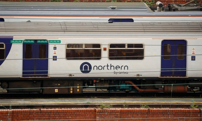 A Northern Rail train leaves Stockport railway station in Stockport, Britain, June 4, 2018. REUTERS/Phil Noble