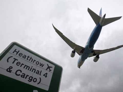 This is where Heathrow's third runway will be, according to the map
