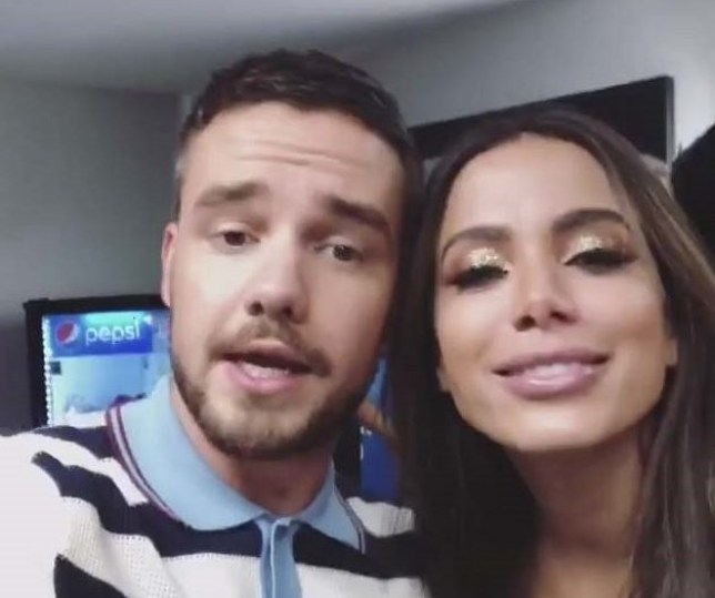 BGUK_1255398 - Various, UNITED KINGDOM - Celebrities seen in this celebrity social media photo posted via Instagram!! Pictured: Liam Payne and Anitta BACKGRID UK 4 JUNE 2018 *BACKGRID DOES NOT CLAIM ANY COPYRIGHT OR LICENSE IN THE ATTACHED MATERIAL. ANY DOWNLOADING FEES CHARGED BY BACKGRID ARE FOR BACKGRID'S SERVICES ONLY, AND DO NOT, NOR ARE THEY INTENDED TO, CONVEY TO THE USER ANY COPYRIGHT OR LICENSE IN THE MATERIAL. BY PUBLISHING THIS MATERIAL , THE USER EXPRESSLY AGREES TO INDEMNIFY AND TO HOLD BACKGRID HARMLESS FROM ANY CLAIMS, DEMANDS, OR CAUSES OF ACTION ARISING OUT OF OR CONNECTED IN ANY WAY WITH USER'S PUBLICATION OF THE MATERIAL* UK: +44 208 344 2007 / uksales@backgrid.com USA: +1 310 798 9111 / usasales@backgrid.com *UK Clients - Pictures Containing Children Please Pixelate Face Prior To Publication*