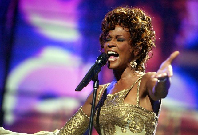 LAS VEGAS, NV ? SEPTEMBER 15: Singer Whitney Houston is seen performing on stage during the 2004 World Music Awards at the Thomas and Mack Center on September 15, 2004 in Las Vegas, Nevada. (Photo by Kevin Winter/Getty Images)