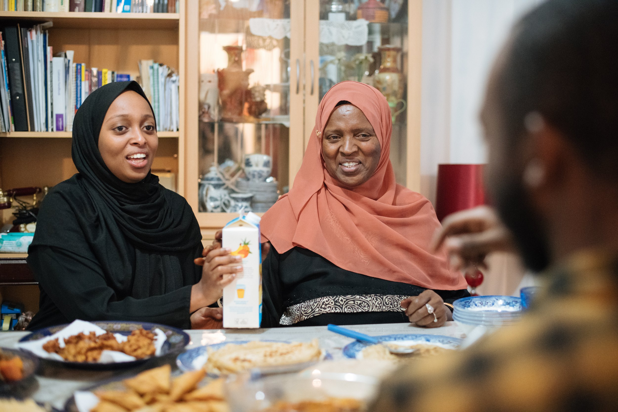 Muslims Who Fast: Amin, a medical student, shows us food from Somalia