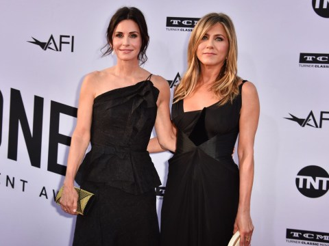 Jennifer Aniston and Courteney Cox are BFF goals as they walk red carpet as dates