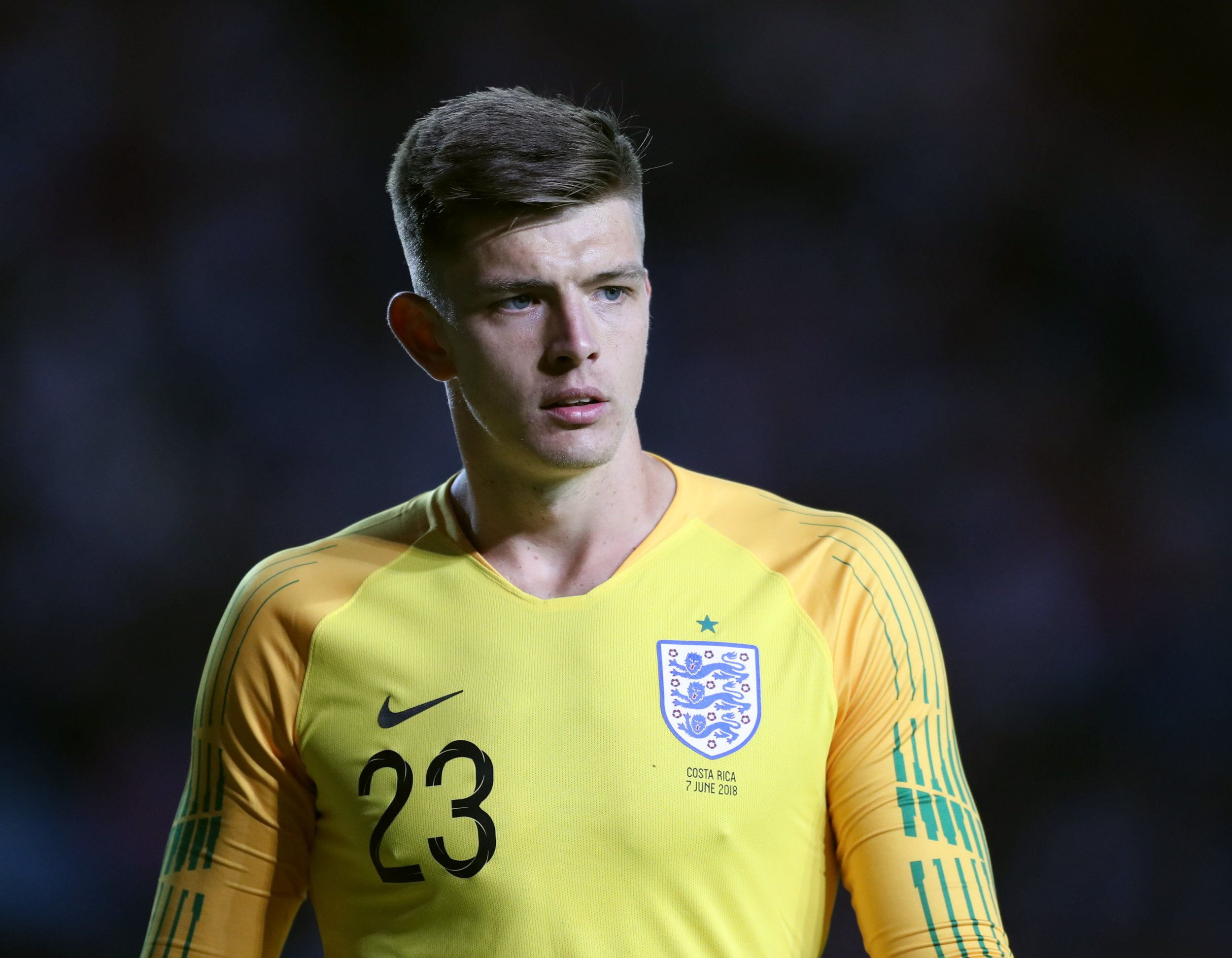 Nick Pope of England during the International Friendly match at Elland Road Stadium, Leeds. Picture date 7th June 2018. Picture credit should read: Simon Bellis/Sportimage via PA Images