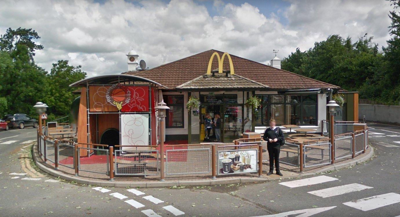 McDonalds Myrtle Hill, Pensarn, Carmarthen SA31 2NG Credit: Google