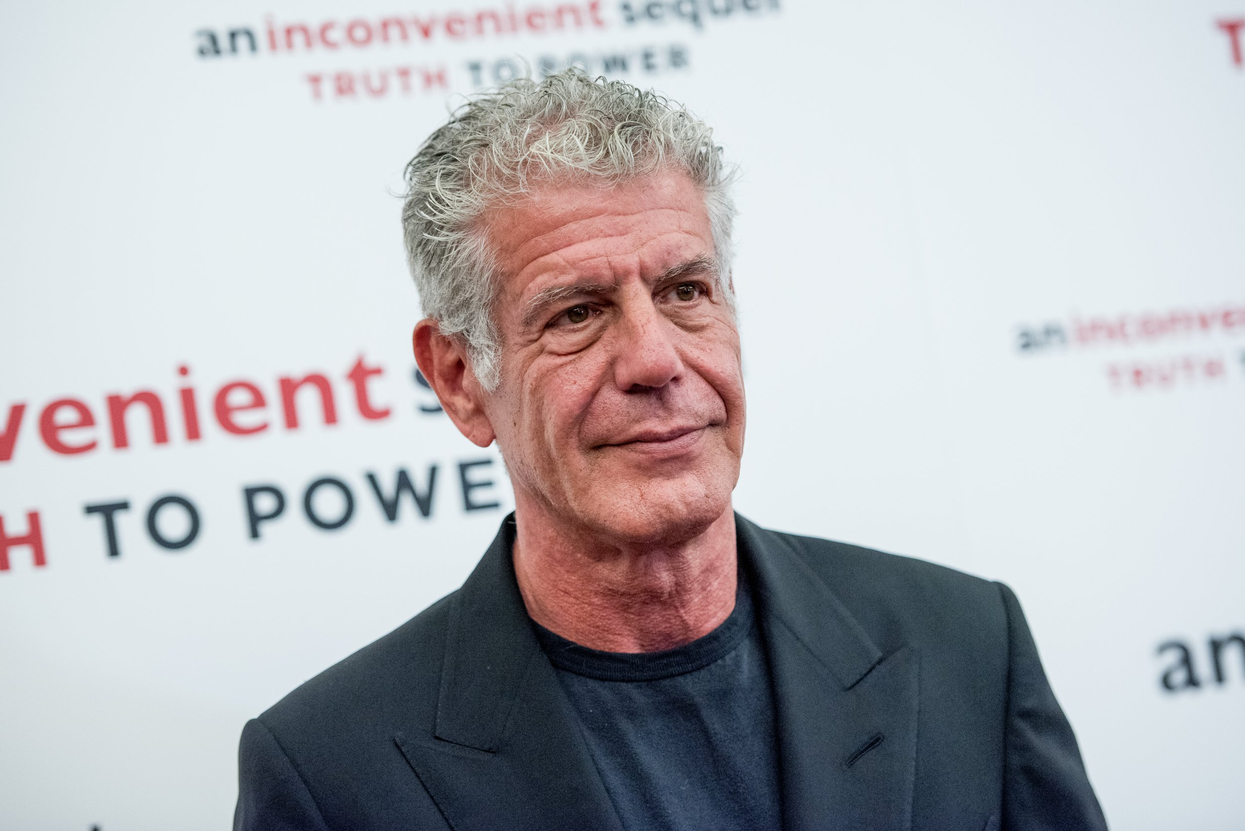 """NEW YORK, NY - JULY 17: Anthony Bourdain attends """"An Inconvenient Sequel: Truth To Power"""" New York screening at the Whitby Hotel on July 17, 2017 in New York City. (Photo by Roy Rochlin/FilmMagic)"""