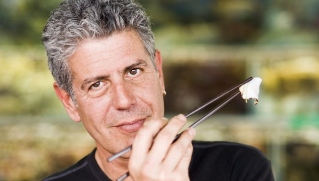 No Merchandising. Editorial Use Only. No Book Cover Usage. Mandatory Credit: Photo by Discovery Channel/Kobal/REX/Shutterstock (5873351b) Anthony Bourdain Anthony Bourdain - No Reservations - 2005 Discovery Channel USA Television