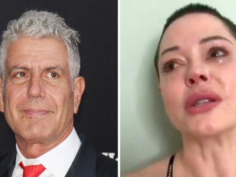 'Asia needed you': Rose McGowan breaks down in tears over Anthony Bourdain's death