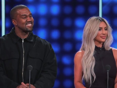 Kanye West tried to get the Kardashians disqualified from Celebrity Family Feud