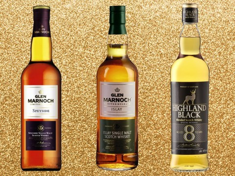 Two of Aldi's cheap whiskies have been named amongst the best in the world