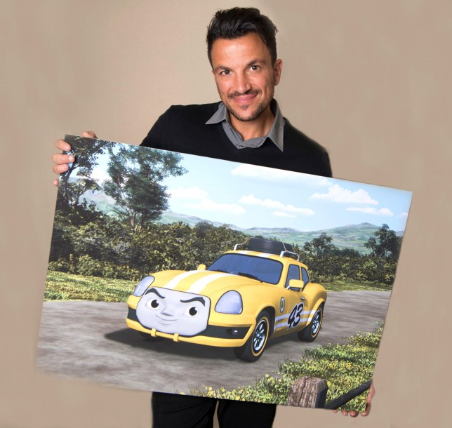 Embargoed to 0001 Tuesday 12 June 18 Undated handout photo issued by Mark Collins PR of Peter Andre who has been revealed as the guest star in the new Thomas the Tank Engine film and will be playing the character of cheeky rally car Ace. PRESS ASSOCIATION Photo. Issue date: Tuesday June 12, 2018. Thomas & Friends: Big World! Big Adventures! The Movie will be showing across cinemas from July 20. See PA story SHOWBIZ Thomas. Photo credit should read: Mark Collins PR/PA Wire