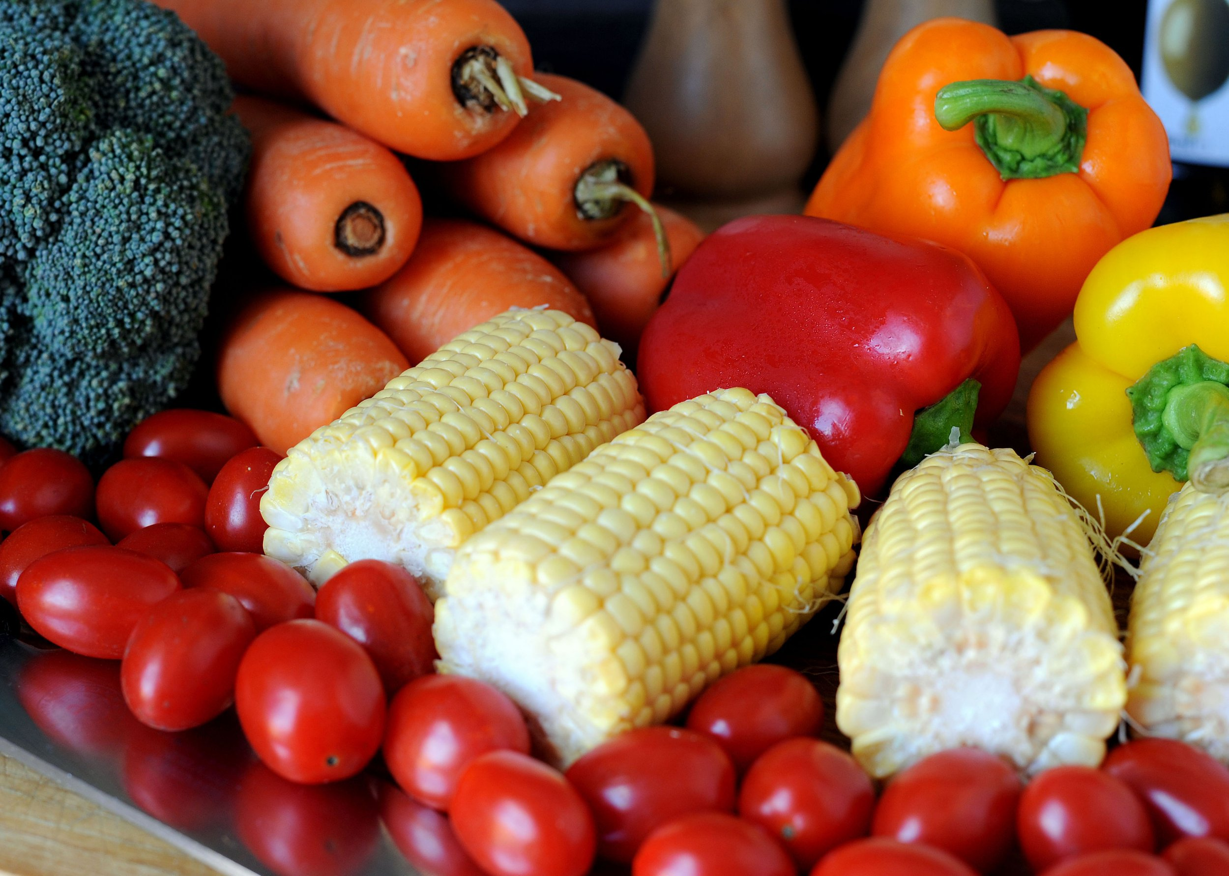 Embargoed to 2000 Monday June 11 File photo dated 20/07/14 of vegetables which could be in short supply by the middle of the century as a result of climate change, water shortage and loss of biodiversity, a study suggests. PRESS ASSOCIATION Photo. Issue date: Monday June 11, 2018. Global average yields of vegetables and legumes such as soy beans and lentils are predicted to be reduced by 35% and 9% respectively. See PA story SCIENCE Vegetables. Photo credit should read: Nick Ansell/PA Wire