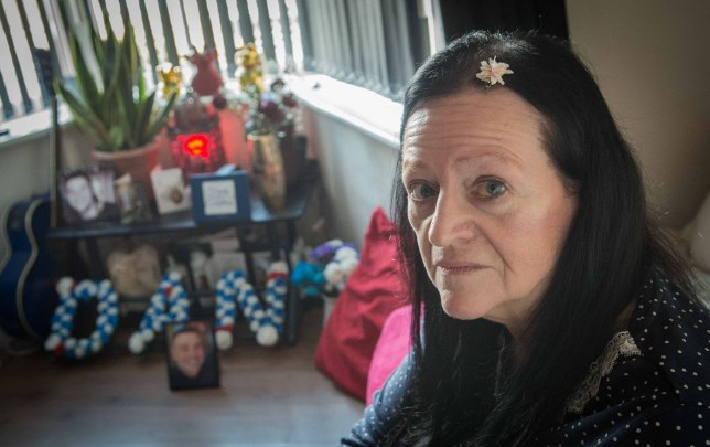 Caption: Lynne Baird, mother of murdered Dan Baird