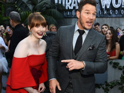 Chris Pratt and Bryce Dallas Howard celebrate as Jurassic World: Fallen Kingdom sells 4 million tickets in Korea