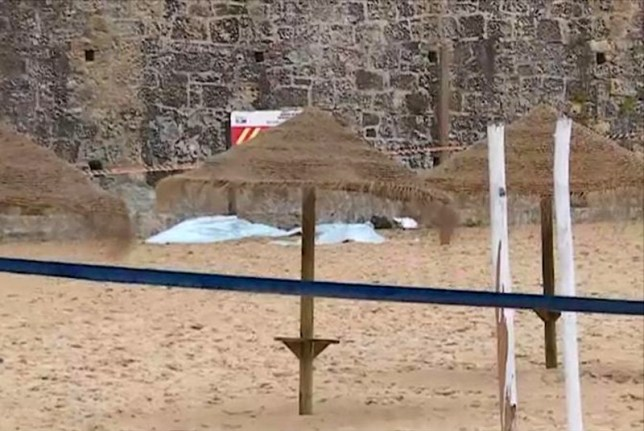 (Picture: Correio Da Manha) An Australian couple have plunged to their deaths after falling from a high wall above a popular surf beach in Portugal, reportedly while trying to take a selfie. The man, believed to be in his 40s, and the woman, thought to be in her 30s, were discovered on the sand at the foot of a 30-metre rock wall by a beach cleaner, according to local media. It is believed the pair fell to their deaths between 1am and 6am on Tuesday morning (local time). Ericeria is a fishing and surfing town on Portugal's western Atlantic Ocean coast, 50km north-west of capital Lisbon.