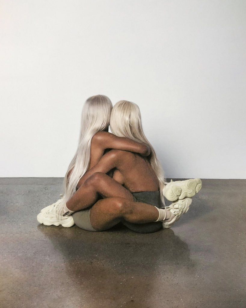 Kanye West's surprise new Yeezy campaign is a bit racy
