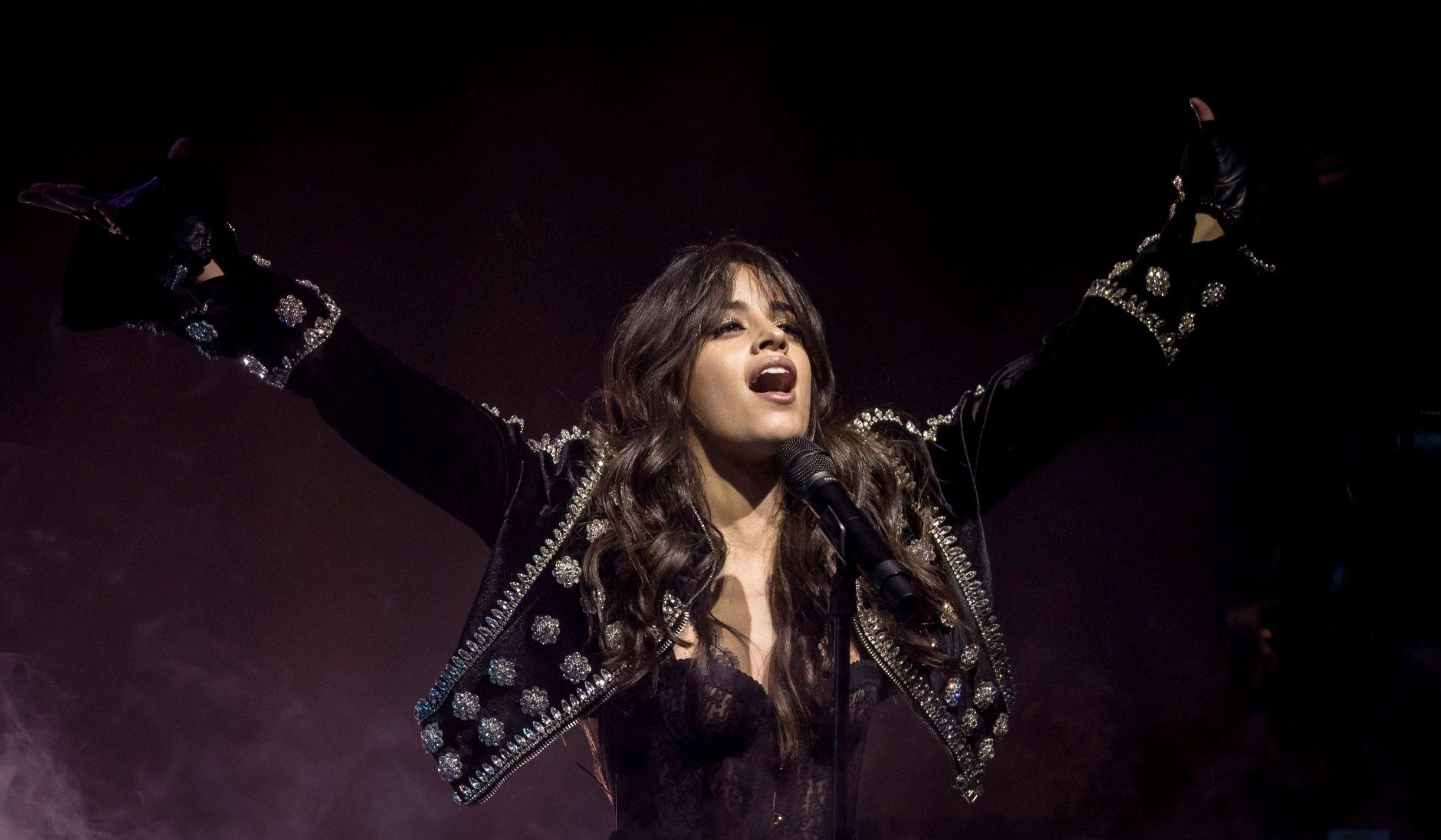 Mandatory Credit: Photo by Tom Dymond/REX/Shutterstock (9714492w) Camila Cabello Camila Cabello in concert at O2 Academy Brixton, London, UK - 12 Jun 2018