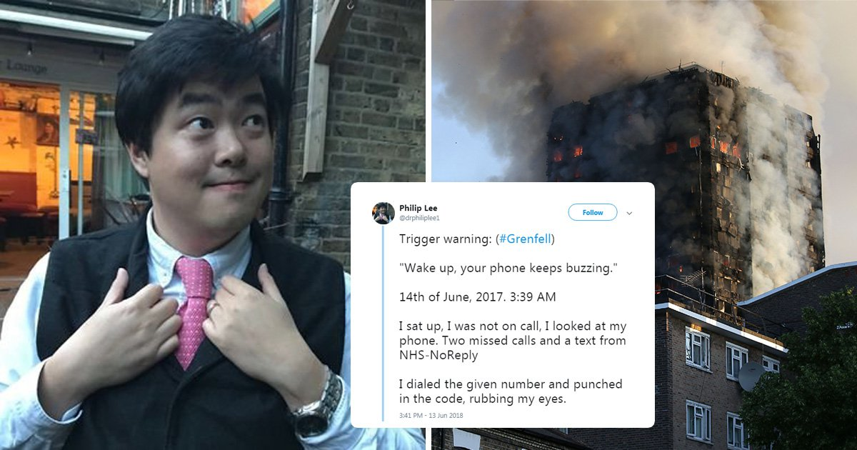 Grenfell doctor's haunting account of what he witnessed after devastating fire